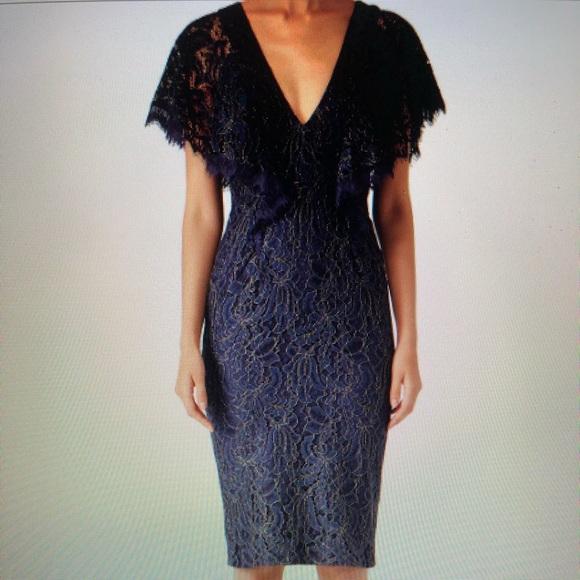 5402962cbed Dress The Population Blue Lace Sheath Dress